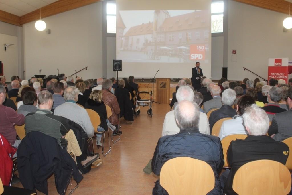 Besucherinnen und Besucher des SPD-Neujahrsempfangs