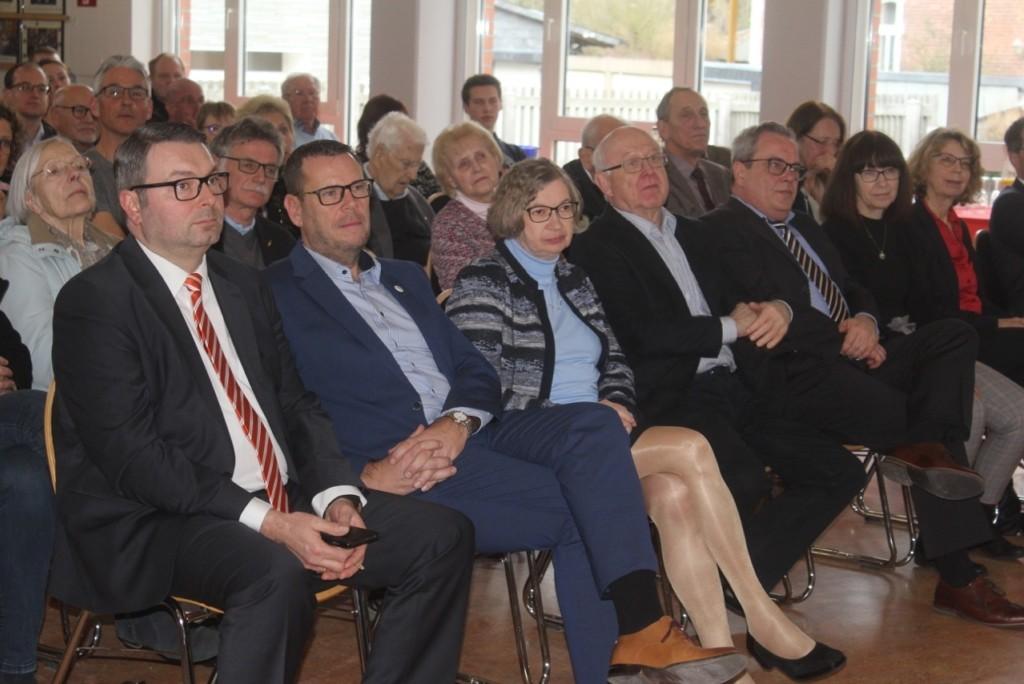 Besucherinnen und Besucher des SPD-Nejahrsempfangs