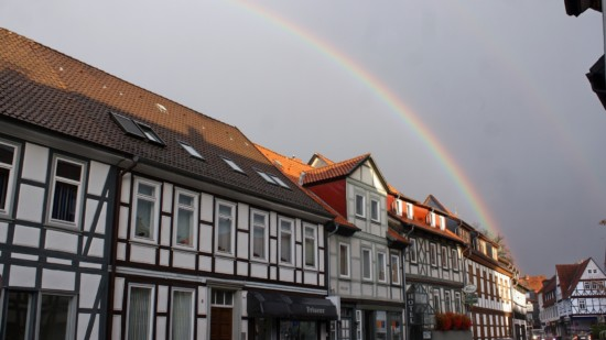 Regenbogen über Bad Gandersheim