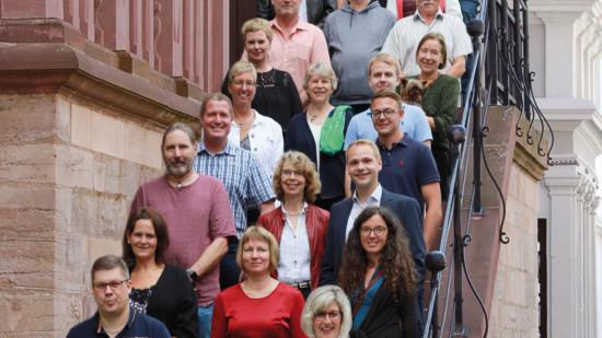 Zu sehen sind die Kandidatinnen und Kandidaten der SPD Bad Gandersheim für die Stadtratswahl 2021
